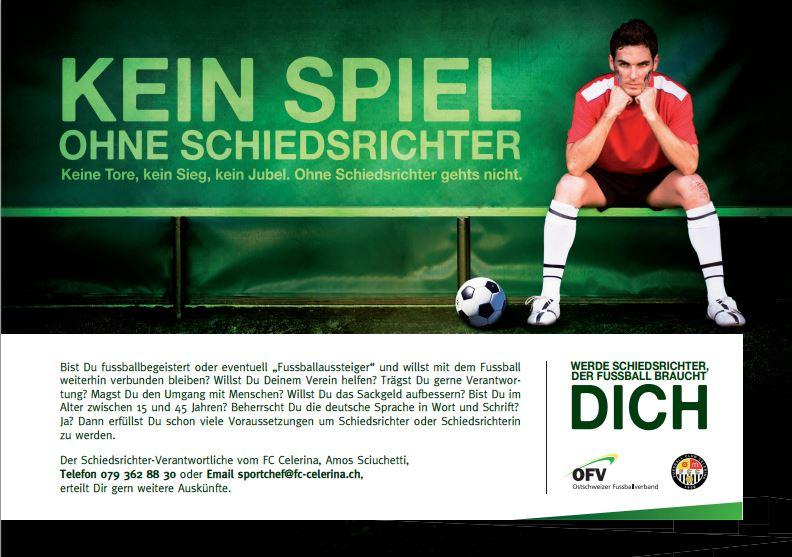 Werde Schiri: Info-Abend in St. Gallen